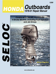 Seloc Marine Tune-Up Manuals, Honda Outboards 1978-2001