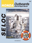 Seloc Marine Tune-Up Manuals, Honda Outboards All Engines 2002-08