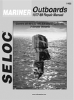 Seloc Marine Tune-Up Manuals, Mariner 3 4 6 Cyl. & V6