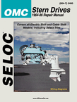 Seloc Marine Tune-Up Manuals, OMC Stern Drives 1964-86