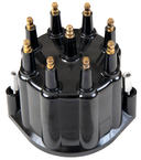 Pertronix Distributor Cap, Black w/Male Terminals