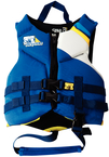 Phantom Navy/Yellow Neoprene Vest, Child