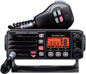 Fixed Mount VHF Radio w/Class-D DSC, Black
