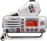 Fixed Mount VHF Radio w/Class-D DSC, White