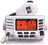 Explorer GX1600 VHF Radio, White