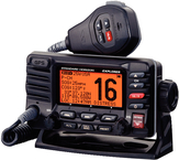Fixed Mount VHF Radio w/GPS & Class-D DSC, Black