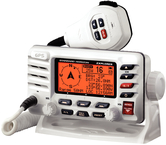 Fixed Mount VHF Radio w/GPS & Class-D DSC, White