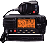 Fixed Mount VHF Radio w/AIS & Class-D DSC, Black