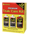 Teak Care Kit, Quart Size