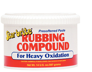 Paste Heavy Oxidation Rubbing Compound, 14 oz.