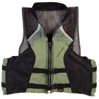 Comfort Series™ Collared Angler Vests, Silver Sm.