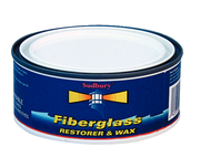 One Step Fiberglass Restorer & Wax, Paste, 11 oz.