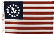 "36"" x 60"" Sewn Us Yacht Ensign"