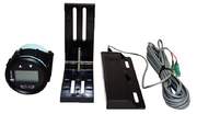 "Atlas Gauge Kit for 6"", 10"" & 12"" Models, Black w/Black Bezel"