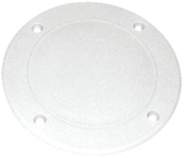 Screw Down Deck Plate - Wht