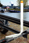 High Impact Pontoon Trailer Guide On's