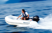 Odyssey 270 Air Floor Roll Up Inflatable Dinghy