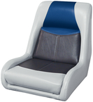 Blast Off Tour Series Swept Back Bucket Seat Grey/Charcoal/Navy